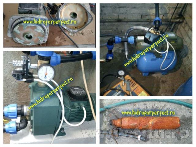 Interventie, reparatii si intretinere pompe si hidrofoare Ilfov