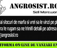 Angrosist.ro - Vinde mai mult, Lucreaza mai putin!