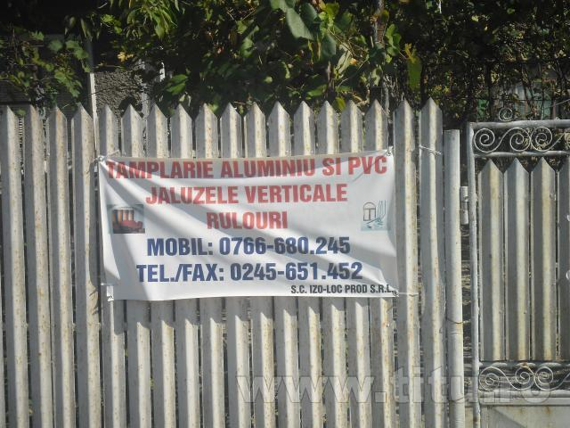 Termopane, tamplarie PVC si aluminiu - IZO-LOC PROD SRL
