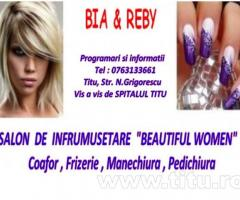 "Salonul de infrumusetare ""BEAUTIFUL WOMEN"" !!"