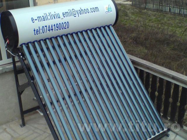 Panouri solare termice cu tuburi vidate