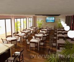 Piscina, restaurant, loc de joaca - Complexul