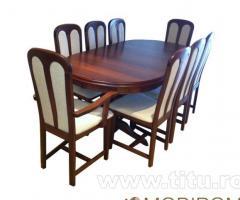 Mobirom - scaune si mese din lemn