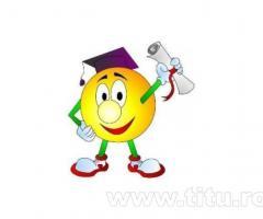 Realizez lucrari de licenta, referate, disertatii, proiecte