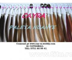 Extensii par CAYRA- 69 lei -set full head/Coada PONYTAIL-49 LEI