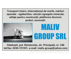 Transport - Maliv Group s.r.l.