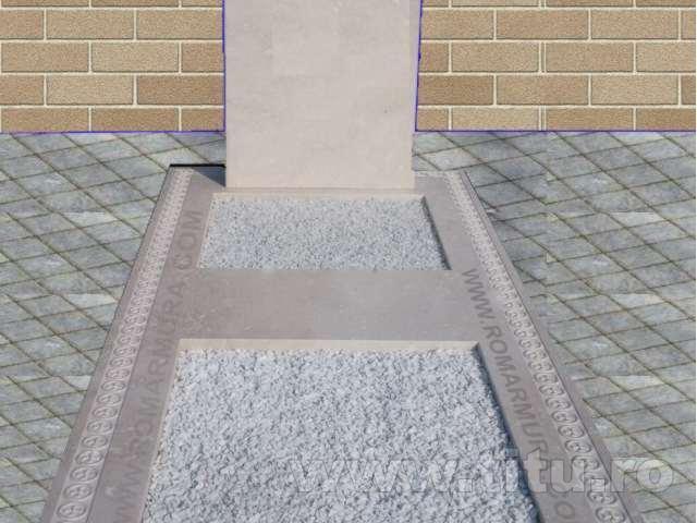 Cavou sau capac din marmura, granit