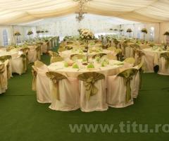 Inchirieri corturi pentru evenimente, utilate complet