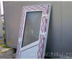 Tamplarie termopan PVC,- USI, FERESTRE, PANOURI COMBINATE, PLASE INSECTE