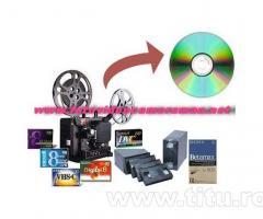 Copieri orice caseta pe dvd/bluray, conversie NTSC/PAL/SECAM, montaj video