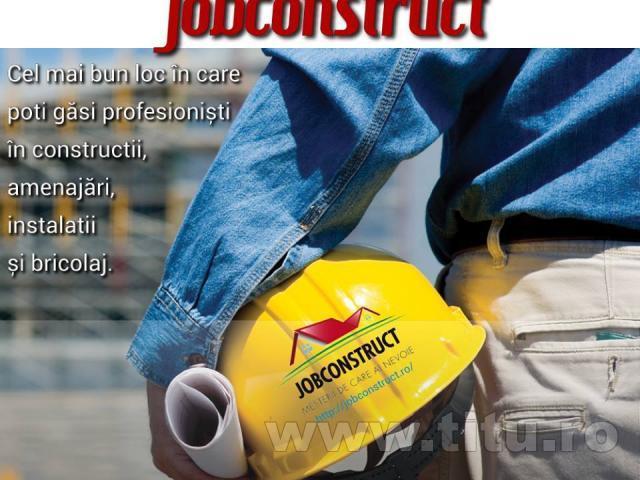 Lucrari si Mesteri in Constructii